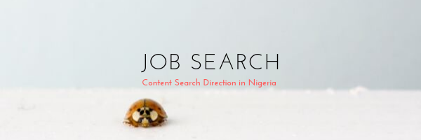 Job Search Trends in Nigeria