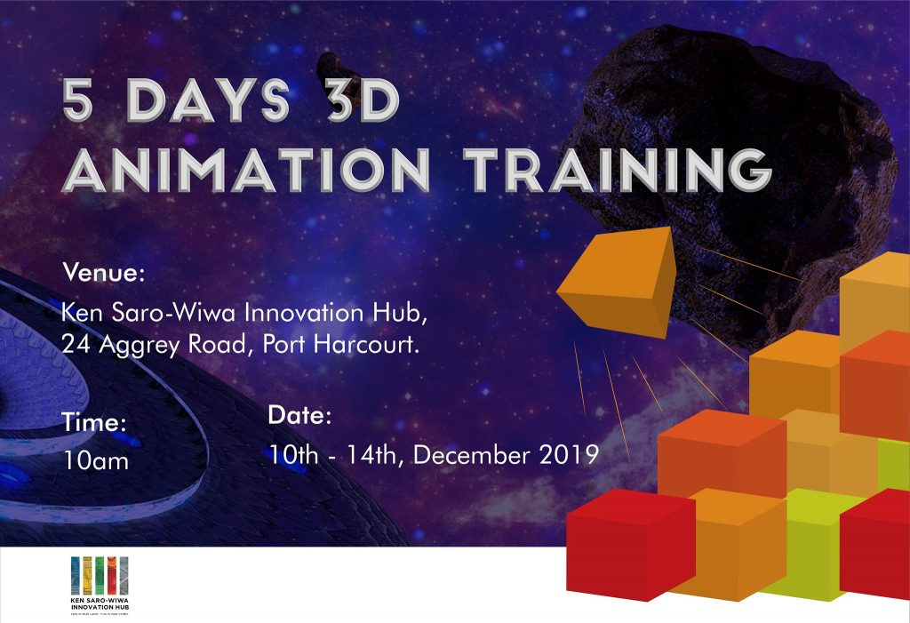 seefinish 5 day 3D animation training