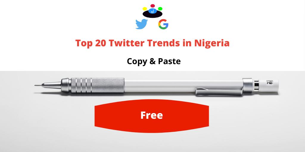 twitter trending topics nigeria