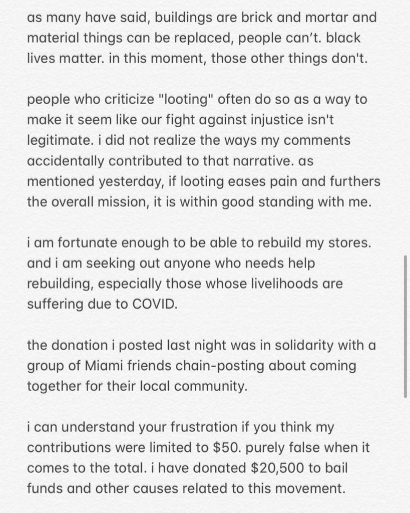 Virgil Abloh Backlash Apology