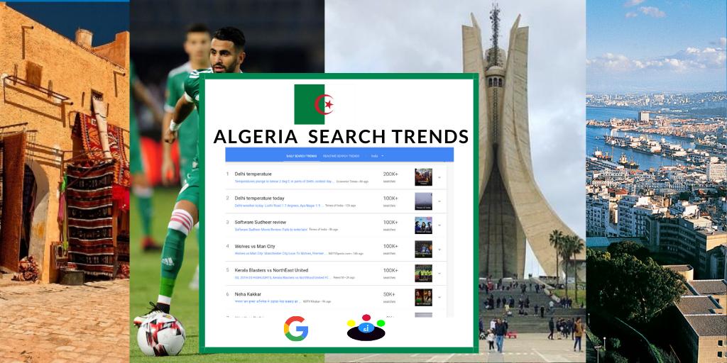 Google Search Trends in Algeria - Seefinish Insights