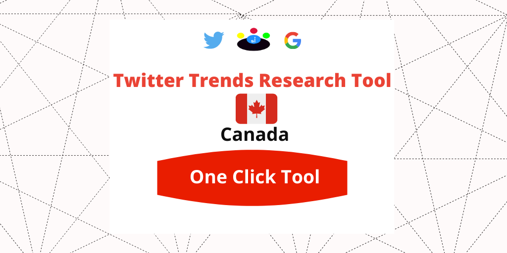 Twitter Trends Trending Research tool Canada - Seefinish