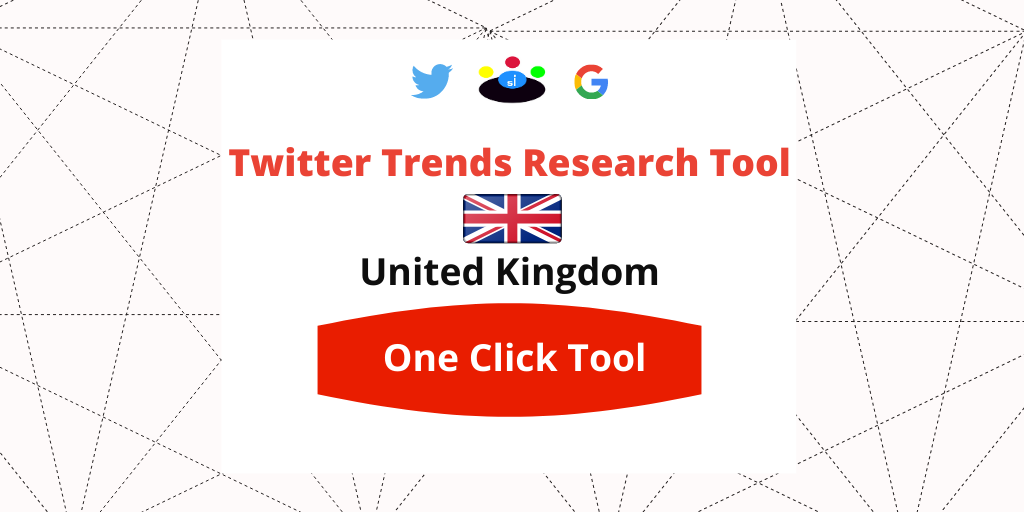 Twitter Trends Research tool United Kingdom - Seefinish